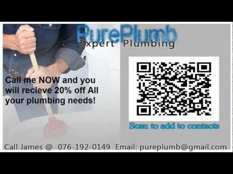 Plumbing Services in the West Rand Area