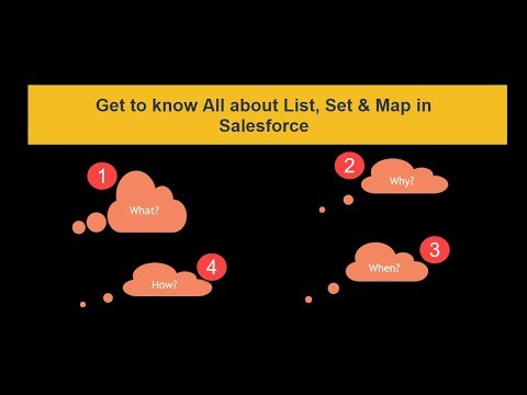 Introduction to Set & Map in Salesforce || What is Set || What is Map ||  #Salesforce