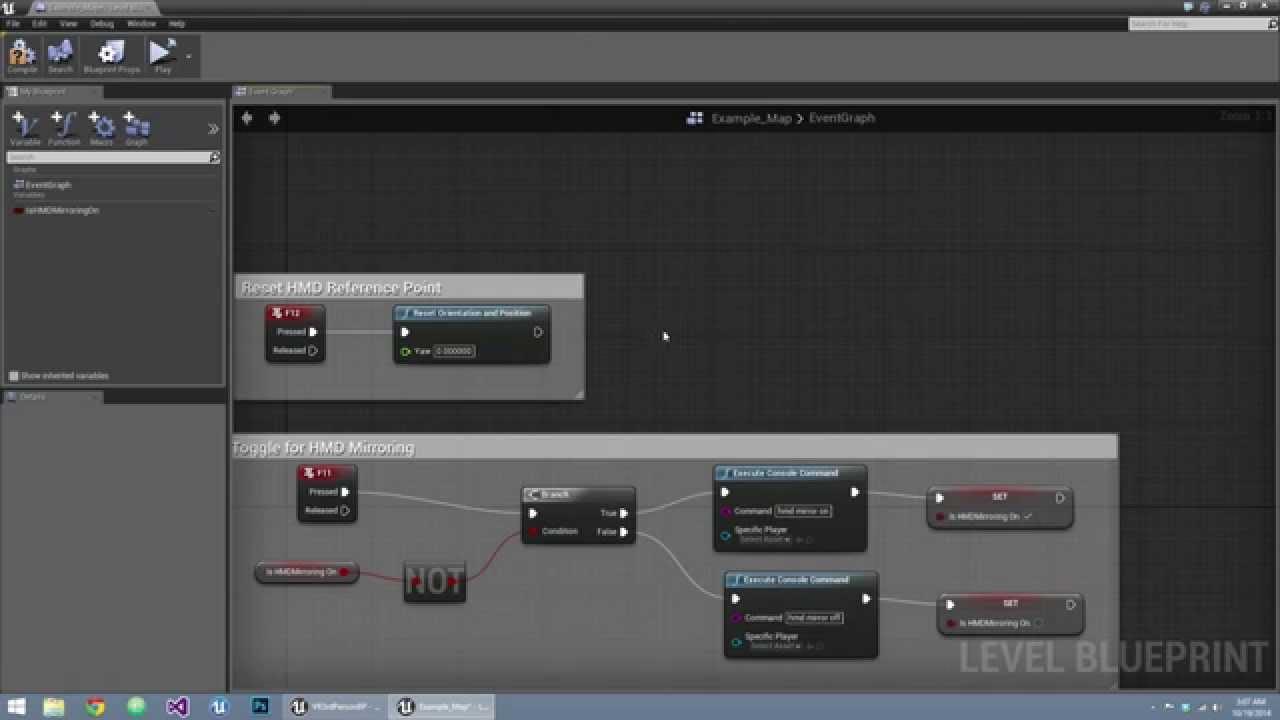 UE4 VR performance settings and helpful settings