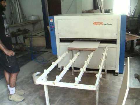 Roller Press Machine Youtube