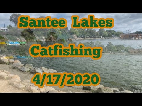 Santee Lake Catfishing