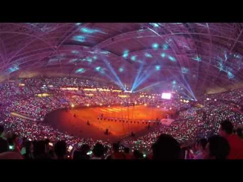 Opening ceremony of the Singapore Sports Hub
