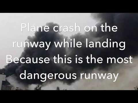 Bangladesh 🇧🇩 airline plane crashed on the runway of kathmandu nepal 🇳🇵 plane crashed in nepal