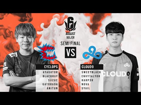 Cyclops vs Cloud9 // APAC Six August 2020 Major – North Division Semi-final
