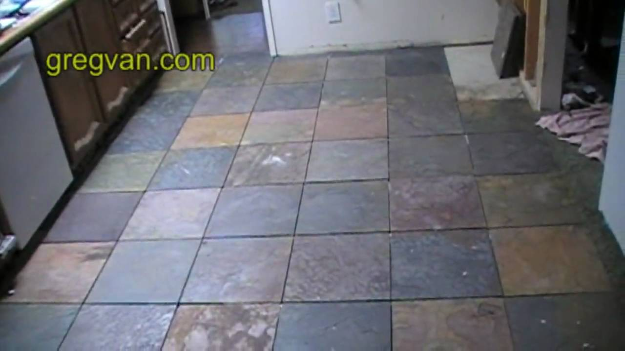 Before grouting kitchen tile floor expert home remodeling advice before grouting kitchen tile floor expert home remodeling advice youtube doublecrazyfo Images