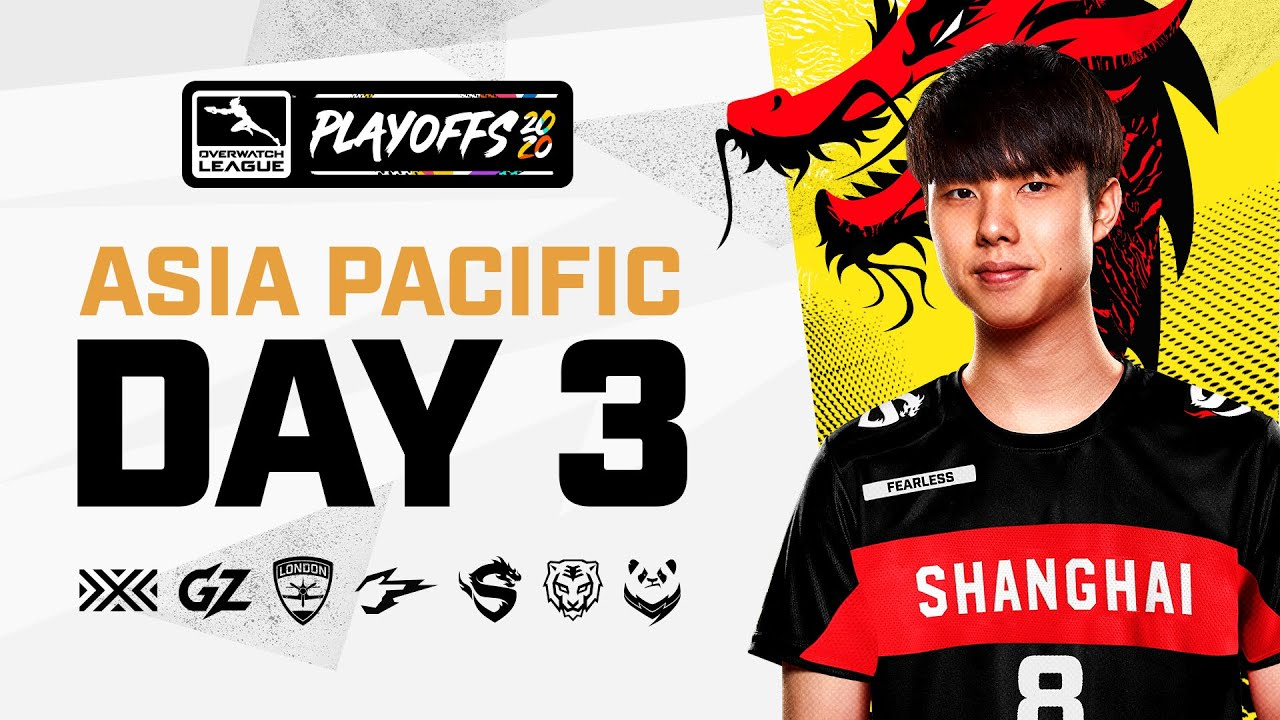 Overwatch League 2020 Season | Playoffs Week 1 | APAC Day 3 thumbnail
