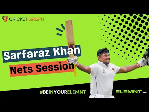Sarfaraz Khan Batting Practice Video Date 6th Oct 2015 4