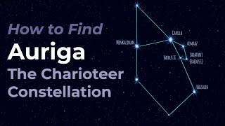 Auriga the Charioteer Constellation