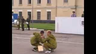 Показательное выступление РБ Уманская зенитно ракетная бригада
