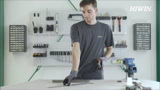 Linearführungen – Maschinell oder manuell geschnittenes Abdeckband