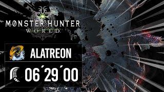 [SPEEDRUN] Monster Hunter World Iceborne - RM24 / Alatreon / 06´29´´00 / GS