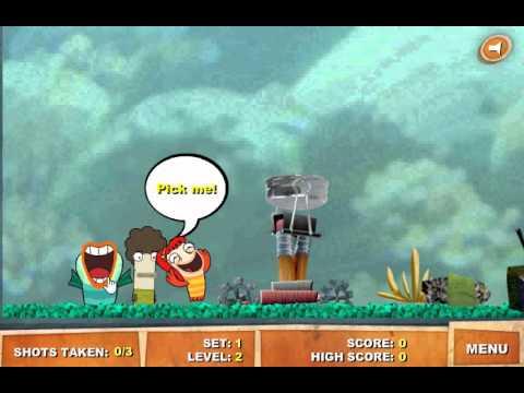 Рыбология игра Катапульта (Fish Hooks Catapult Chaos)