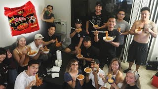Illiminate 2x Spicy Noodle Challenge!!