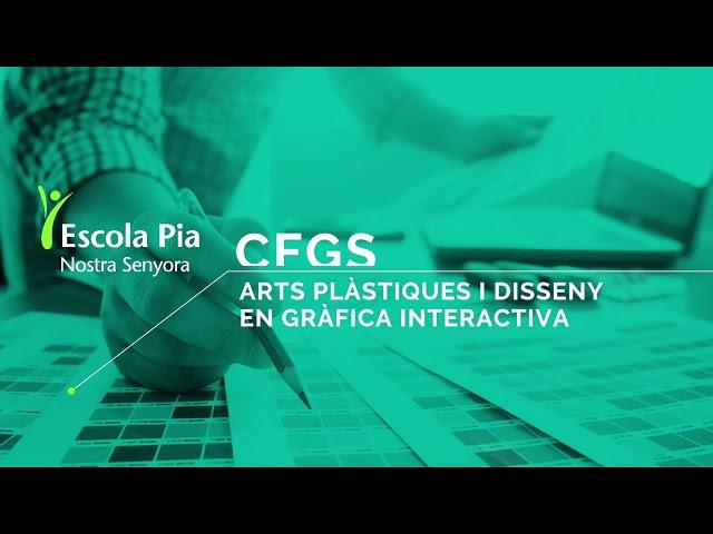 CFGS Gràfica Interactiva a Escola Pia Nostra Senyora