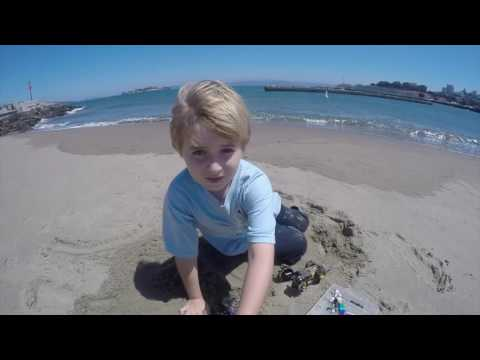 Lego Adventure on the Marina Beach of San Francisco by Antoni