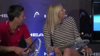 Head-to-Head Sharapova & Novak Djokovic