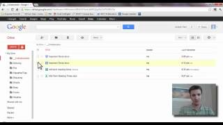 Using Google Drive for Student Collaboration