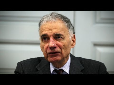 Ralph Nader Criticizes 'Absurd' College Culture