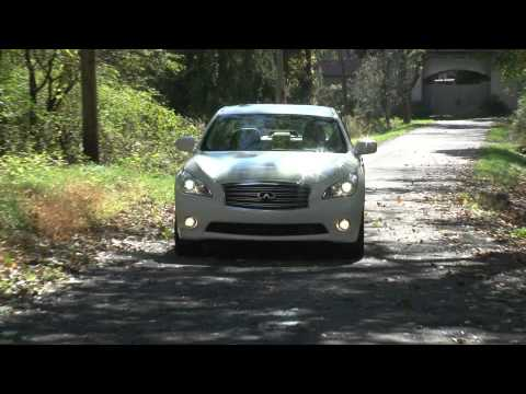 2012 Infiniti M Hybrid - Drive Time Review with Steve Hammes