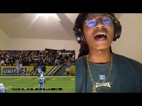 DAMN BROKE HIS ANKLES TWICE!! Titans vs  Steelers  NFL Week 11 Game Highlights REACTION!!