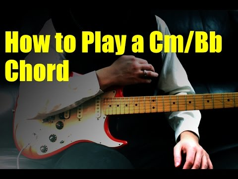 how to play a cm/bb chord