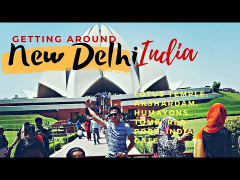 Lotus Temple New Delhi India Travel Adventure