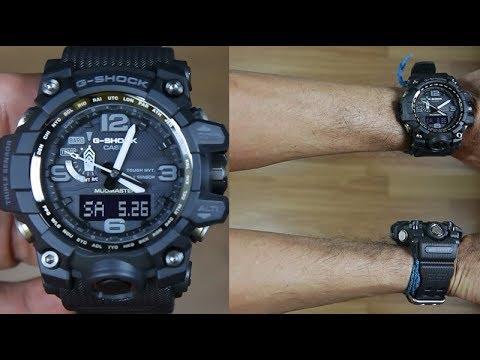 ecfaba5c1356 CASIO G-SHOCK MUDMASTER GWG-1000-1A1 FULL BLACK - UNBOXING - YouTube