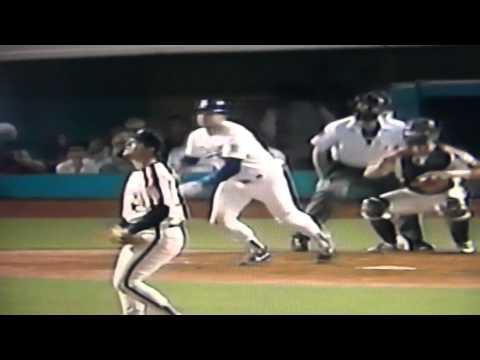 Mike Scioscia Starts 1st All Star Game 1990