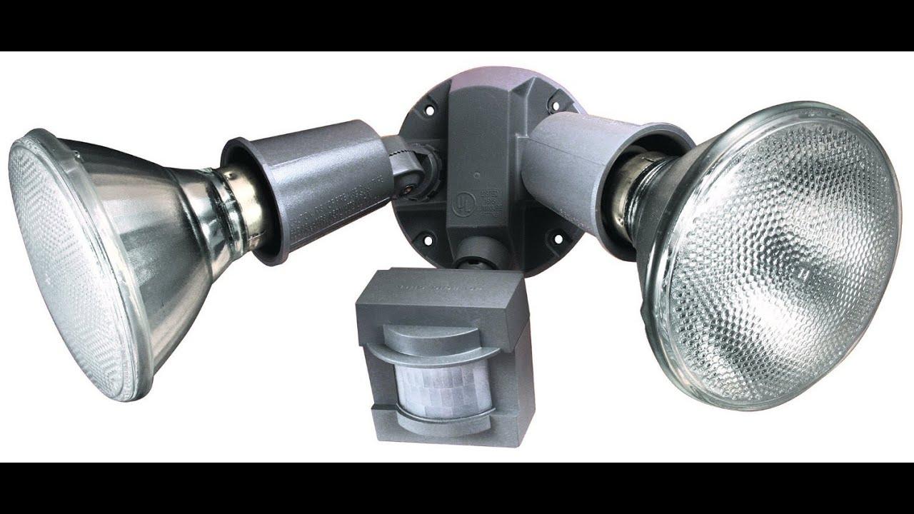 motion sensor flood lights instructions www