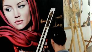 Hyper-realistic painting - Millani