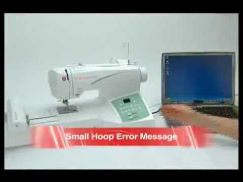 SINGER FUTURA™ Top Troubleshooting Tips YouTube Adorable Singer Futura Ses1000 Embroidery Sewing Machine