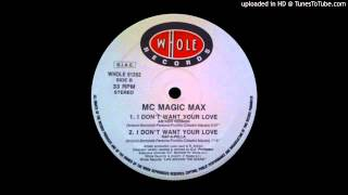 MC Magic Max -- I Don