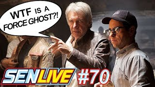Harrison Ford Doesn't Care About Force Ghosts! - SEN LIVE #70