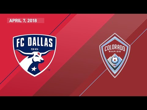 HIGHLIGHTS: FC Dallas vs. Colorado Rapids | April 7, 2018