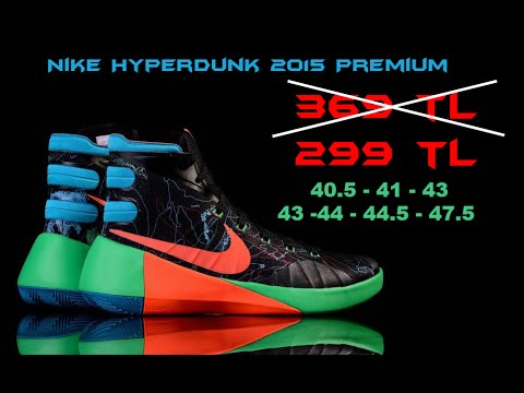 reputable site b4982 d57d3 HYPERDUNK 2015 PRM - BASKETHANE - YouTube