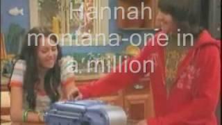 Hannah montana-one in a million (chicken dance)