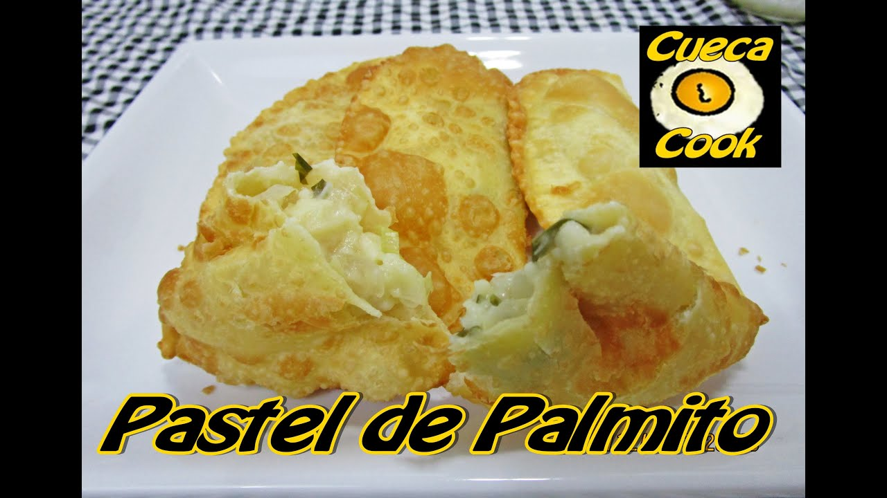 recheio de palmito igual ao pastel da feira - 5 ingredientes - cueca cook   011
