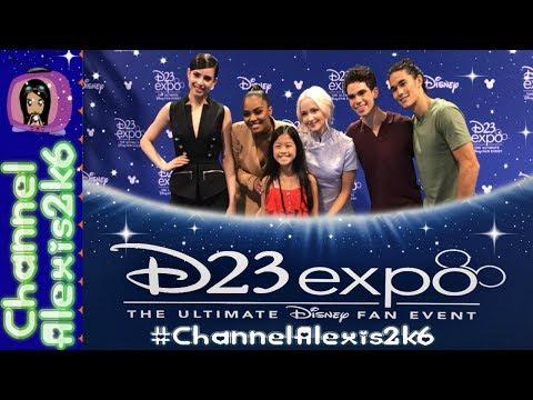 Download Youtube: D23 Expo 2017 | Descendants 2 Autographed CD Giveaway | Sofia Carson & Dove Cameron | Disney Stars