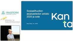 Kanta-palvelujen käyttöönotto sosiaalihuollossa