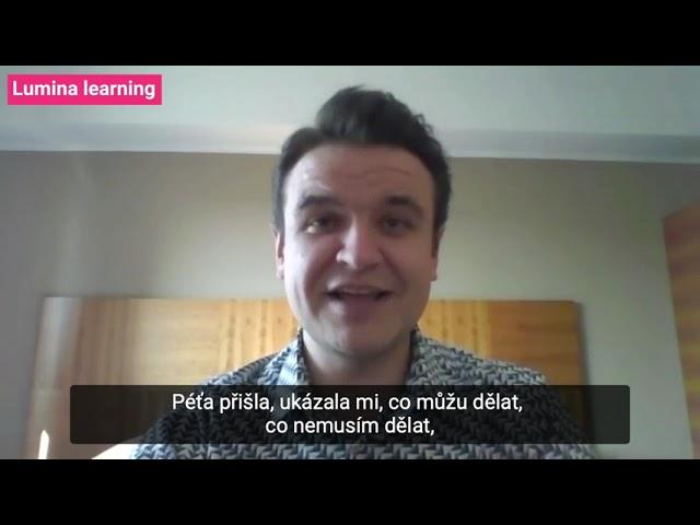 KOUČINK LUMINA LEARNING: Jak jej hodnotí Denis Tureček?   Reference
