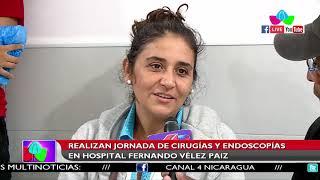 Realizan jornada de cirugías y endoscopías en el Hospital Fernando Veléz Paiz