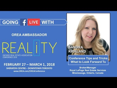OREA REALiTY chat with Conference Ambassador Sandra Kirkland - The Geeky Agent - RE/MAX