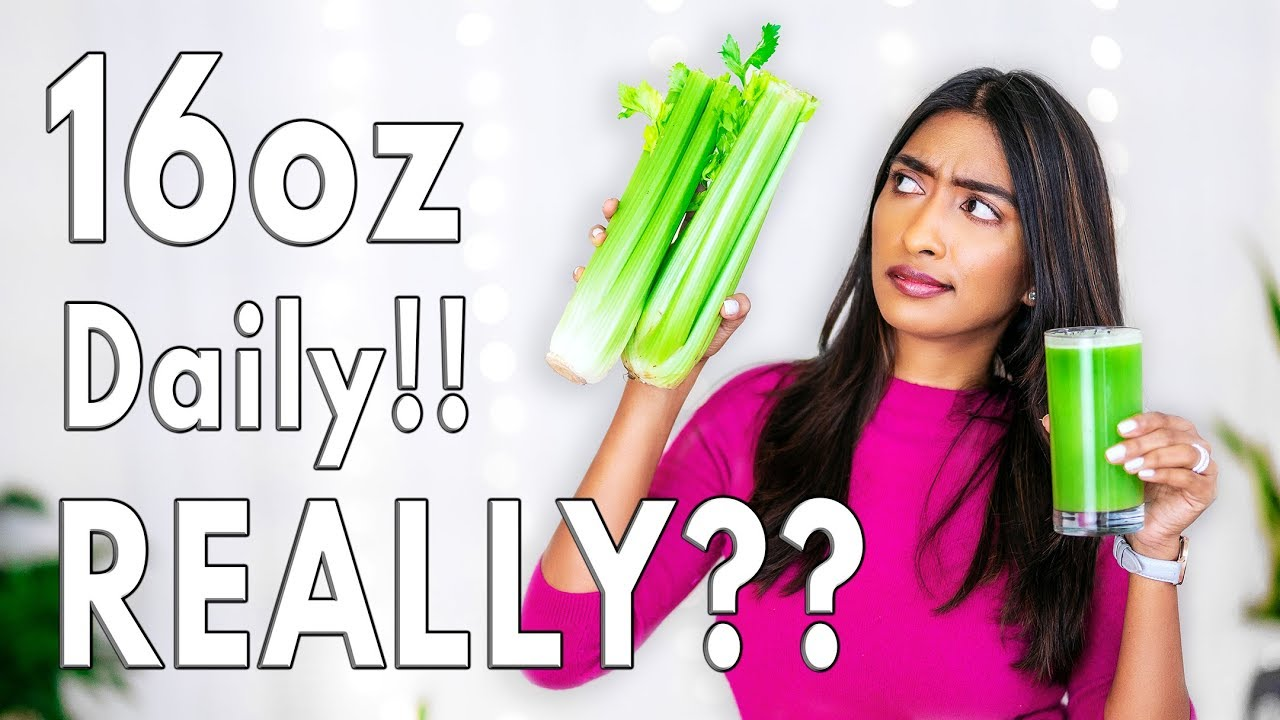 Celery Juice Nutrition Value |What does Celery Juice do for your Body | My  experience | Shikha Singh