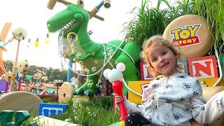 Milusik Lanusik visits to the Family Theme Park for kids