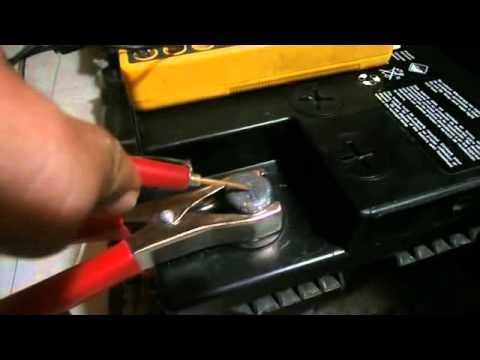 Cargador de bateria de 12 voltios para auto youtube - Cargador de baterias ...