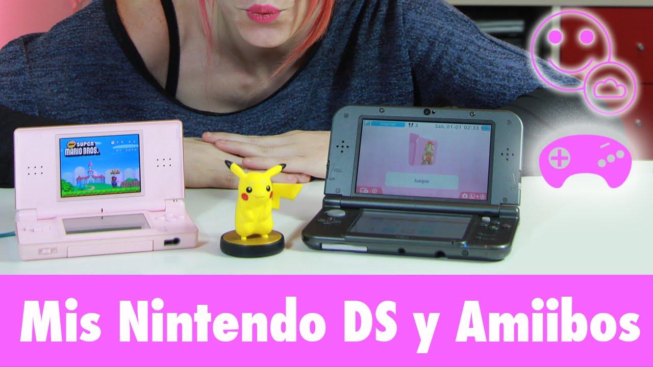 Nintendo 3ds Xl Y Ds Lite Mis Nintendo Ds Juegos Y Amiibos Vlog
