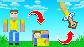 How To TURN FRIENDS Into ITEMS! (Minecraft)