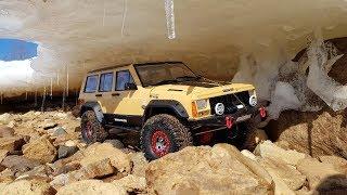 ТЮНИНГ JEEP CHEROKEE ... Покоритель ледяной пещеры (RC car Axial SCX10-2)