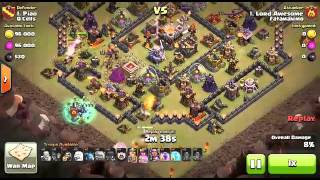 Clash of Clans | 3 STARS on TH11 | GOWiWi | Co Leader LordAwesome