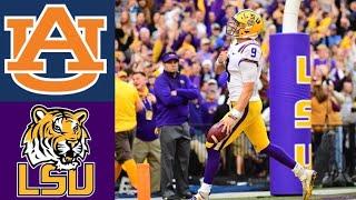 #9 Auburn vs #2 LSU Highlights | NCAAF Week 9 | College Football Highlights